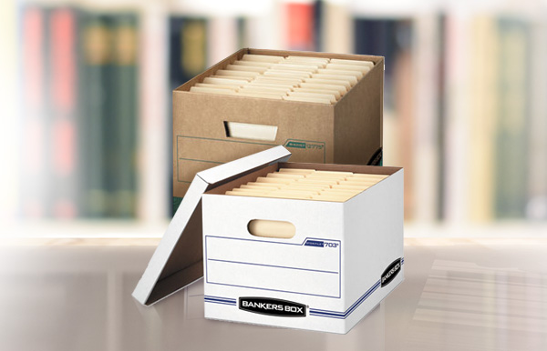 Office Solutions provides storage supplies for your workplace.